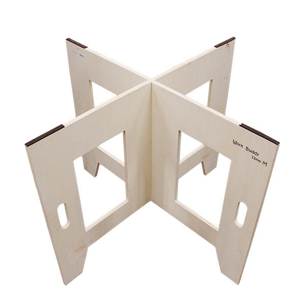 組み立て工具不要 省スペース DIY テーブル 保証 脚 セール開催中最短即日発送 ハンズマン 2199564 12mm×590mm×800mm Work Buddy ワークバディー 作業台脚 M 脚2枚1セット