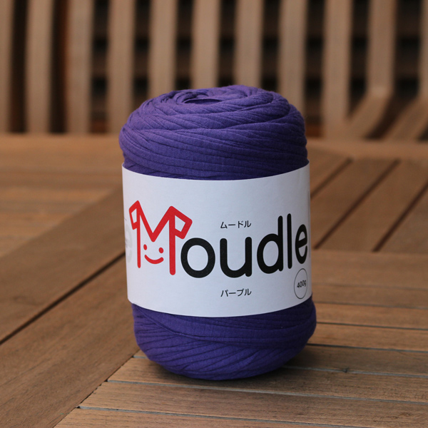 全22色 高品質 長さ約120m バッグ ポーチ かご タッセル ラグ 編み物 ハンズマン 毛糸 価格 ヤーン リサイクルヤーン 編み糸 9255710 代引不可 返品不可 Tシャツヤーン 送料区分A パープル MOUDLE ムードル MD-108 糸