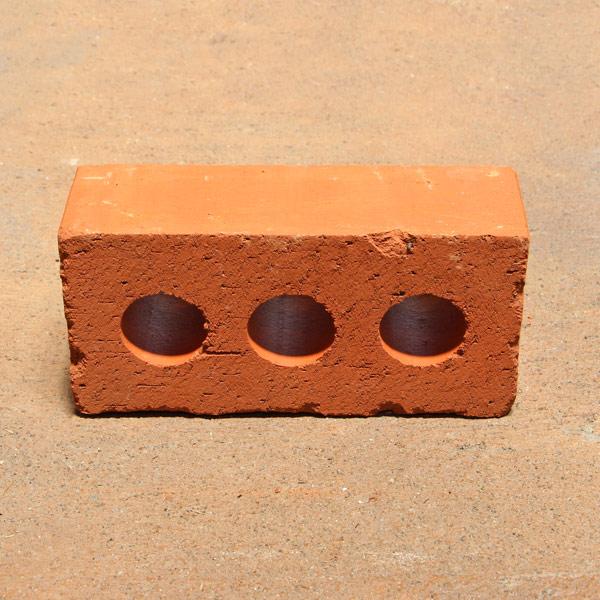 庭 ガーデニング DIY 即納送料無料 ハンズマン レンガ ブロック レンガブロック 通常配送 登場大人気アイテム レッド 230×110×75mm 3220001 送料別 新燃岳積レンガ 約