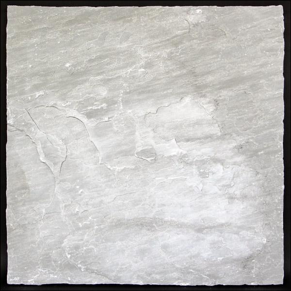 インド直輸入 玄関 庭 アプローチ DIY ハンズマン ステップストーン 天然石 敷石 アビー 大型 約56cm×約56cm 3221407 シルバー 最新号掲載アイテム 割れ物 ABBEY 送料別見積 中古 大
