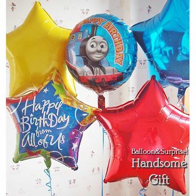 トーマス 誕生日 バルーン電報 1歳誕生日 ヘリウムガスキャラクター電報 祝電 キャラ電 パーティバルーンあす楽 キャラクターバルーン祝電 お誕生日 パーティ装飾 パーティバルーンヘリウムバルーン きかんしゃトーマスバースデイ セパレートタイプ