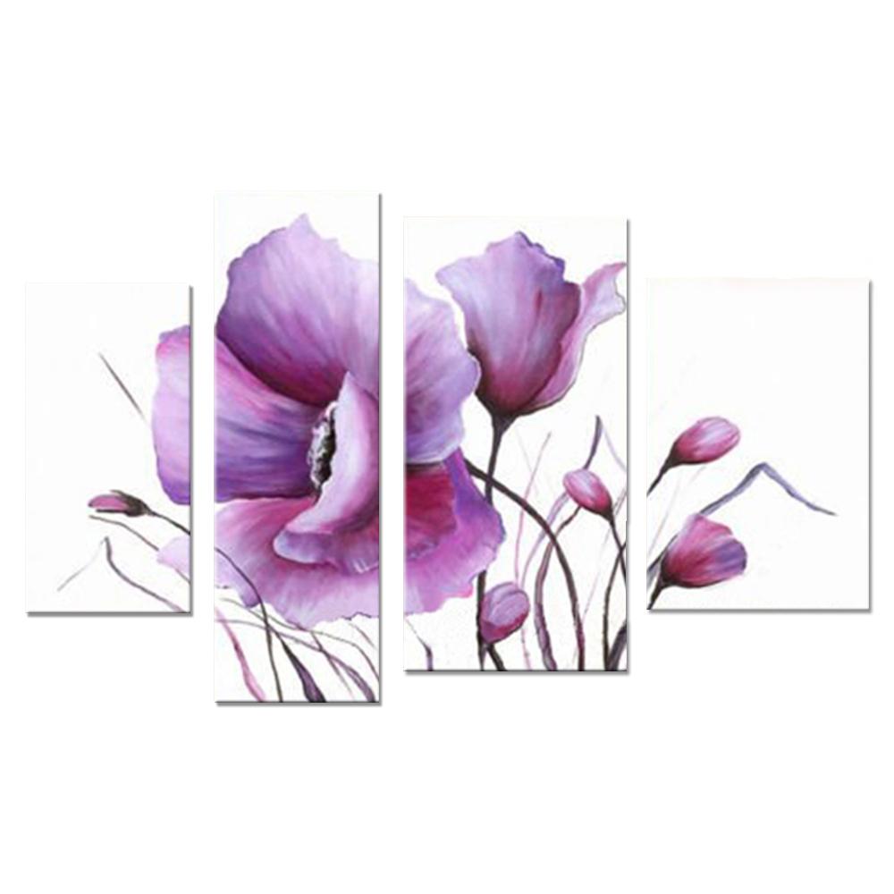 【モダン油絵工房】 油絵 現代絵画 インテリア 壁掛け 手書きモダン油絵 ナチュラルライン 花D 2FAE-4042 30×60cm 30×90cm 40×60cm 40×80cm