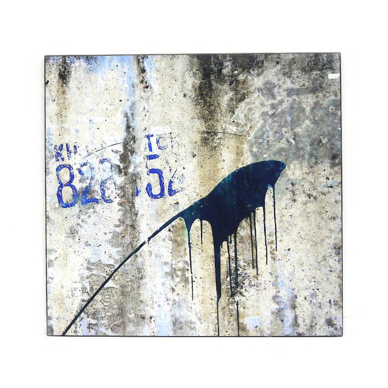 【KH CAT B TONG】木製アートパネルC モダンアート壁掛け ベトナム雑貨 インテリア 壁飾り