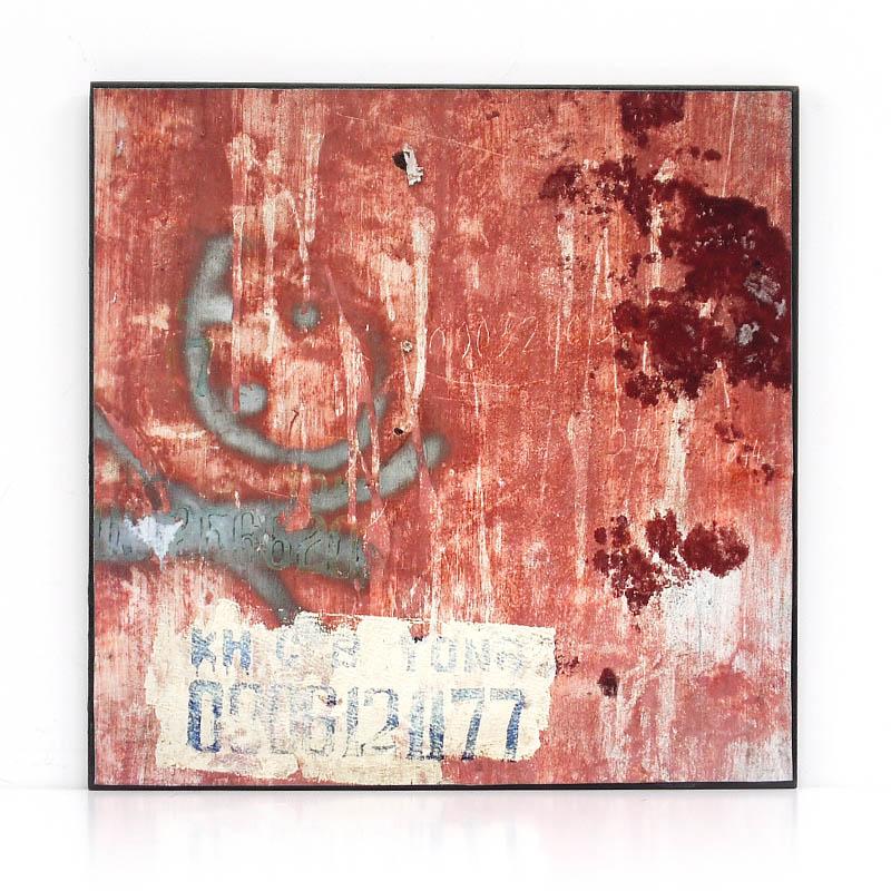 【KH CAT B TONG】木製アートパネルF モダンアート壁掛け ベトナム雑貨 インテリア 壁飾り