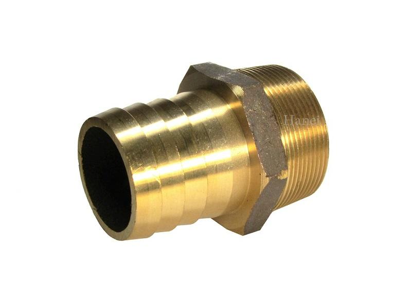 砲金 ホースニップル3インチ(80A) ネジ外径89.1mm ホース際しこみ口75mホース継手 ホース継ぎ手 ホース金物
