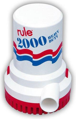 大容量 rule ルールビルジポンプ 2000 24v