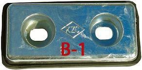 亜鉛板 B-1  1箱  24枚入り