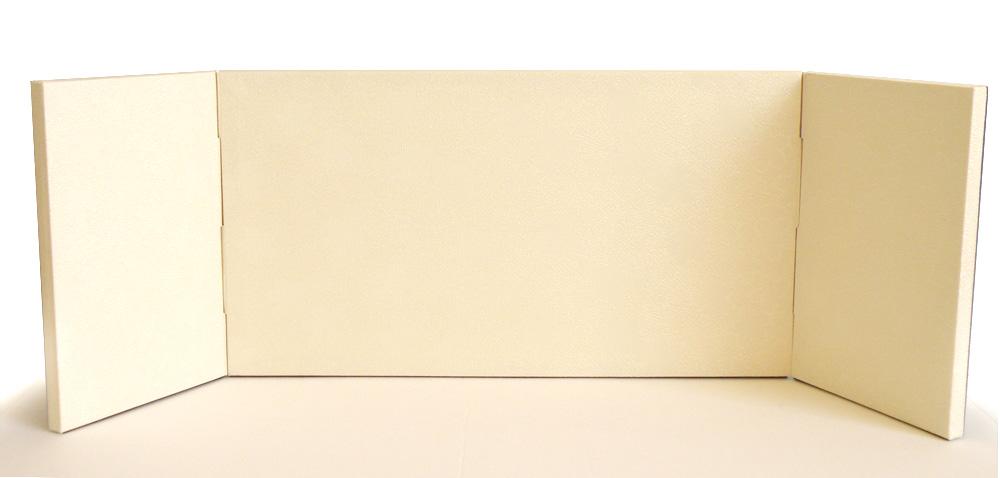 屏風 8号桜りんずクリームムジ三曲包み込み屏風 かわいい雛道具 和小物 ディスプレイ 単品販売 雛飾り 和風 インテリア