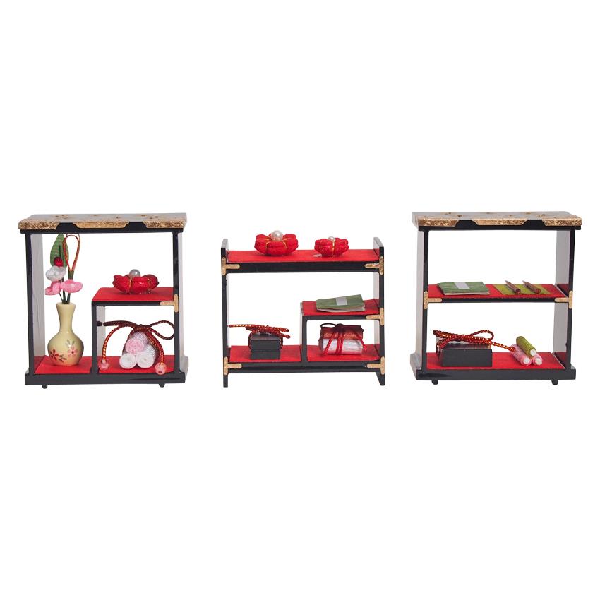 三棚飾り かわいい雛道具 和小物 ディスプレイ 単品販売 雛飾り 和風 インテリア