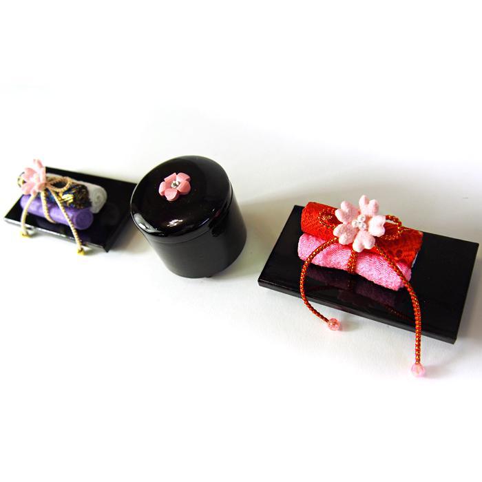 25号春菜宝石箱巻物セット かわいい雛道具 和小物 ディスプレイ 単品販売 雛飾り 和風 インテリア
