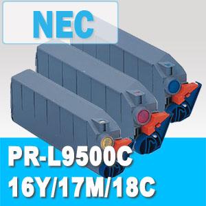 PR-L9500C -16Y / -17M / -18C /  NEC リサイクルトナー ※在庫確認が必要な商品です トナー全品宅急便無料!(他商品との同梱は承れません)10P05Nov16