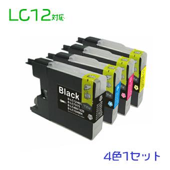 br インク LC12BK LC12C LC12M LC12Y br 4色セット LC12-4PK 互換 br インク lc12  LC12 4色セット(LC12BK LC12C LC12M LC12Y)br互換インク  (沖縄・離島を除く)☆ - thefandomentals.com