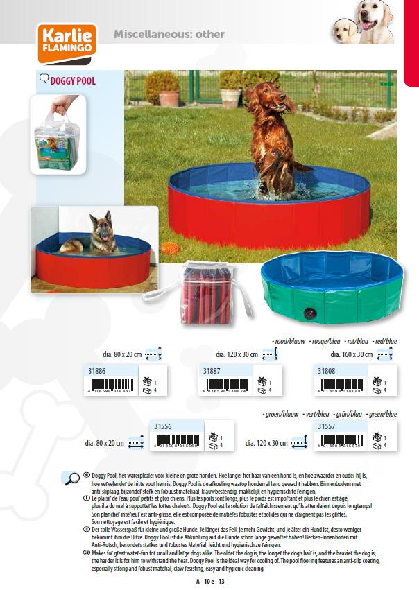 【ドイツKARLIE】犬達の爪での引っ掻きに対するテスト済みです。ドイツKARLIE社製Doggy Pool ドギープール サイズ80グリーン【お散歩 ドライブ アウトドア お出かけ】
