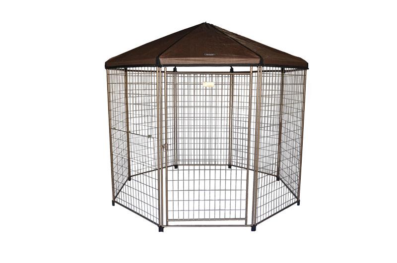 【ADVANTEK】ペットのアウトドアキャンプテントケージです!アメリカアドバンテック ドッグハウス THE PAVILION Pet Gazebo アウトドアケンネル【サークル ケージ ハウス お散歩 ドライブ アウトドア お出かけ】