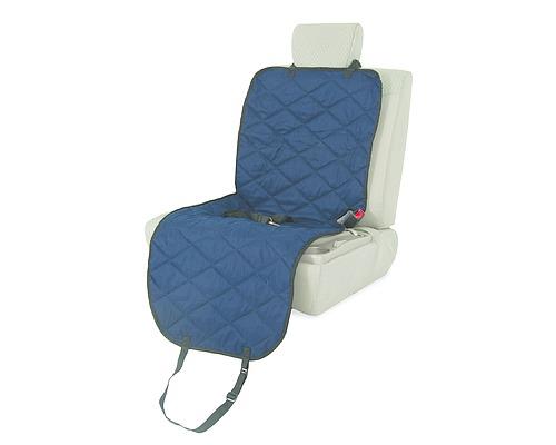【ペットメイト】ヘッドレストに取り付ける前座席用ドライブシート!PETMATEフロントバケットシートカバー ネイビー【バリケンネル キャリーバッグ ドライブ アウトドア カーシート 助手席】