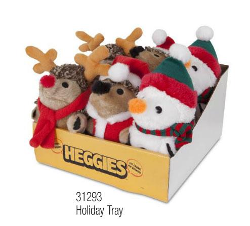 【ペットメイト】かわいいペットのおもちゃヘッジーがクリスマスのいろんなコスプレで新登場!PETMATE わんちゃん用おもちゃ ドッグトイheggiesホリデイヘッジー6ピースセット【おもちゃ コスプレ 仕事 クリスマス サンタ トナカイ】