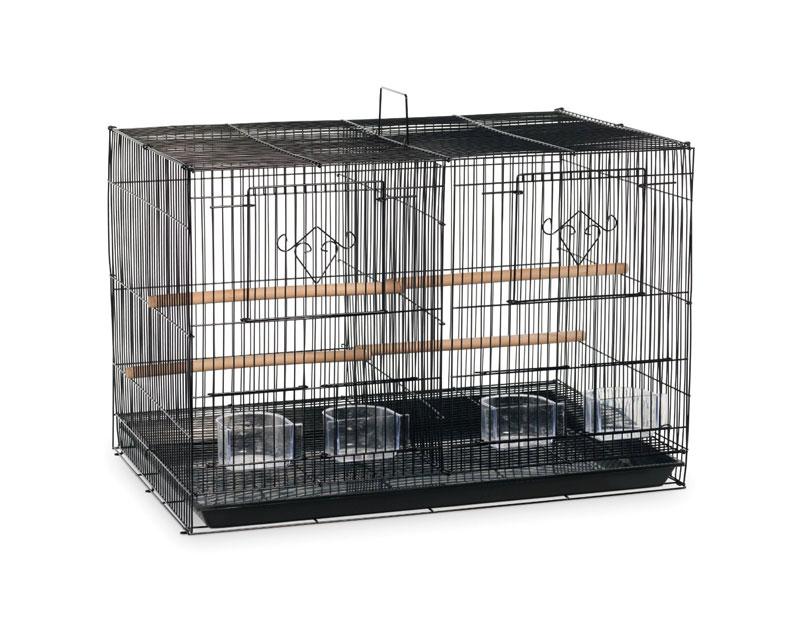 【プレビューペット】それぞれのお部屋で鳥たちのプライベートルームをご用意いたします。PrevuePet スタックロックダブルブリーダーケージ F063【鳥かご 鳥ケージ バードケージ】