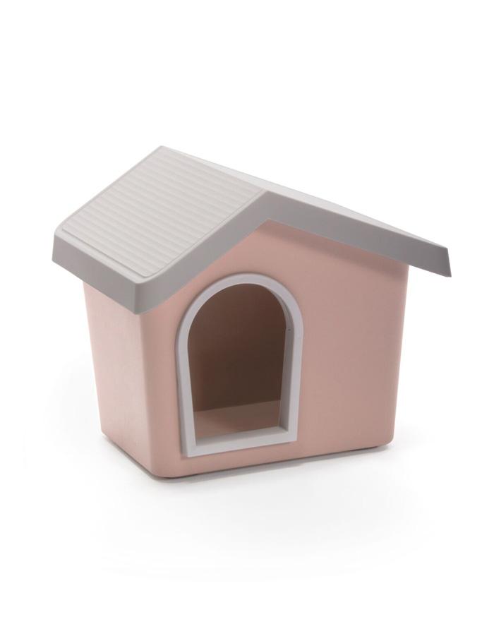 【イタリアIMAC】新発売!カラーリングがきれいなおしゃれな屋外用犬小屋!IMAC ドッグハウス ゼウス50 リミテッドエディション ピンク【キャリーバッグ ペットカート お散歩 ドライブ アウトドア お出かけ】