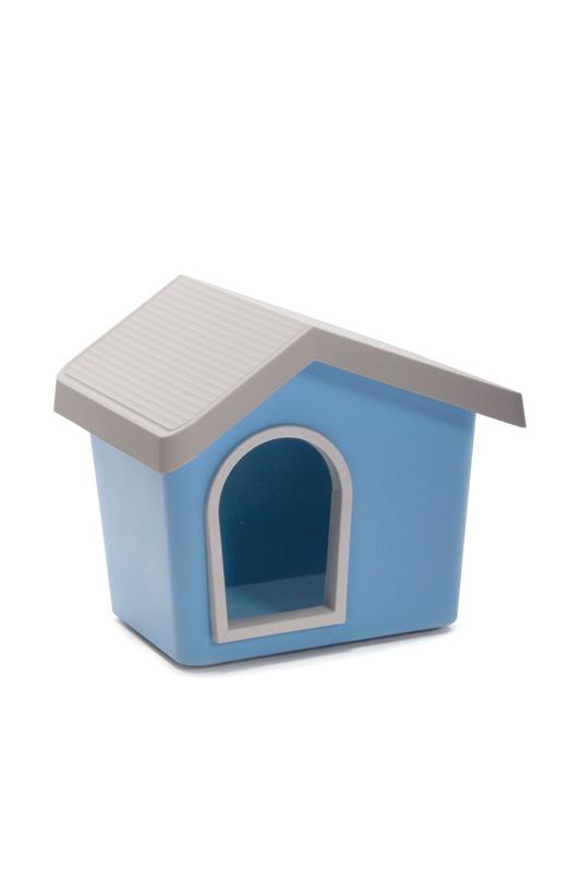 【イタリアIMAC】新発売!カラーリングがきれいなおしゃれな屋外用犬小屋!IMAC ドッグハウス ゼウス50 リミテッドエディション ブルー【キャリーバッグ ペットカート お散歩 ドライブ アウトドア お出かけ】