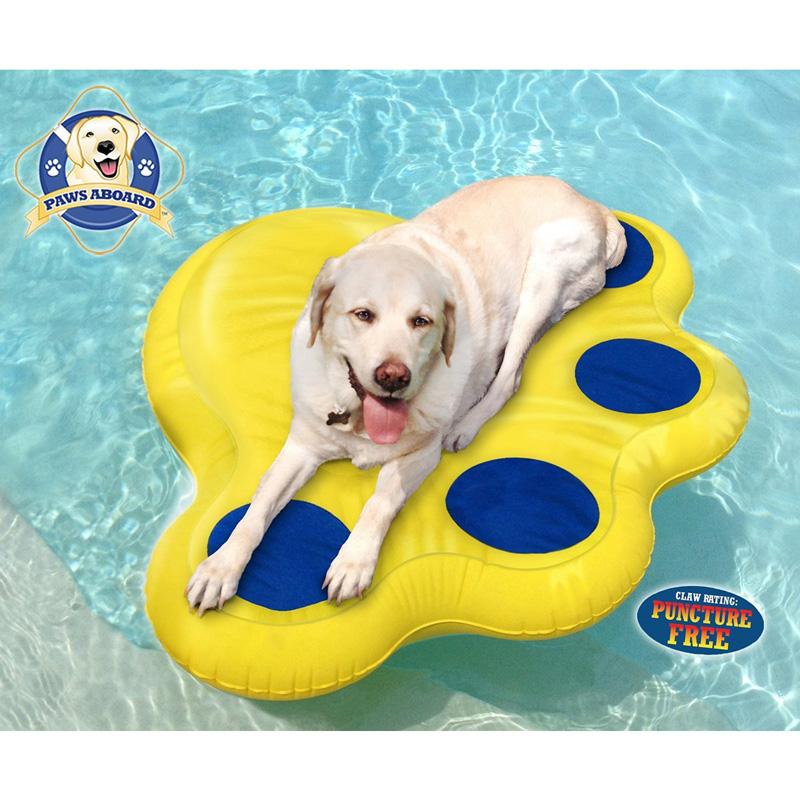 【アメリカFIDO】アメリカからペットと一緒にプールで遊べるペット用フロート!アメリカPAWS ABOARD スモールインフロータブルラフト Lサイズ【ドライブ アウトドア セーリング ボート クルーザー ドッグプール】