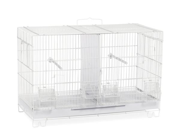 ※再入荷しました※【プレビューペット】それぞれのお部屋で鳥たちのプライベートルームをご用意いたします。PrevuePet スタックロックダブルブリーダーケージ F060 【小動物 バードケージ 鳥かご 鳥ケージ 小動物 屋外用 屋内用 学校 幼稚園】