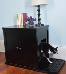 【Refined Kind】新発売!リファインドカインド リファインドキャットリッターボックス Lサイズ エスプレッソ(こげ茶)【キャットツリー クローゼット 猫タワー ねこタワー ハンモック 高級 ねこカフェ 猫カフェ ネコノミクス】
