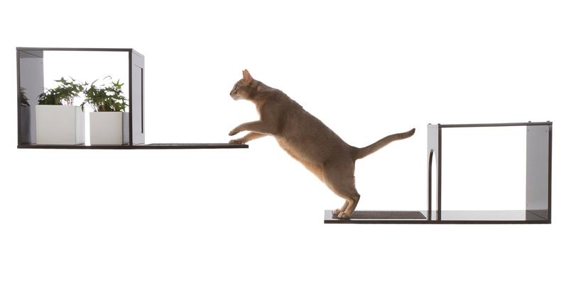 【DesignerPetProducts】デザイナーペットプロダクツ ソフィアウォールマウントキャットツリー ブラック【キャットツリー クローゼット 猫タワー ねこタワー ハンモック 高級 ねこカフェ 猫カフェ ネコノミクス 猫の日】