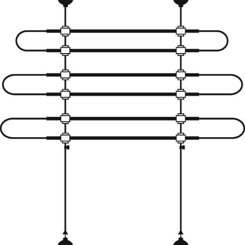 【ドイツKerbl】運転中にペットが移動しないように防止するパネル。ドイツKerbl社製 カーセーフティパネルバリアー Car Safety Net B: 85-140cm H:75-110cm【ドライブ アウトドア おでかけ】