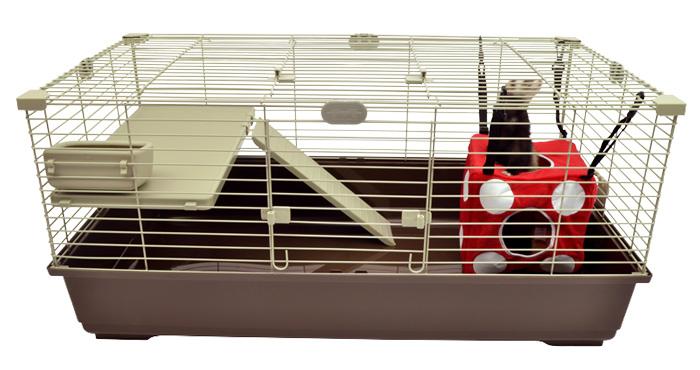 【Marshal Pet】アメリカで人気のフェレットの特化したペットメーカー!マーシャルペット フェレットケージ タウンハウス2グラウンドストーリー【ラビット ハムスター フェレット うさぎ 鳥かご 鳥ケージ バードケージ】