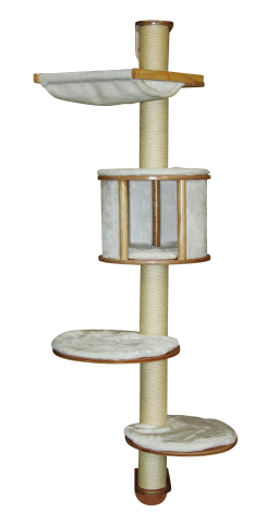 【ドイツKerbl】壁に取り付ける専用のキャットタワーです。ドイツKerbl社キャットタワー ドロミットcat tree white【キャットタワー 爪とぎ プレイボックス ベッド ハウス リノベーション 壁専用 ねこカフェ 猫カフェ ネコノミクス】