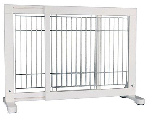 【ドイツTRIXIE】ドイツTRIXIE 3スタンディングドッグゲート ホワイト 【ゲート ケージ サークル インテリア】