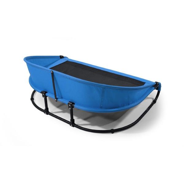 【GEN7PETS】ペットベッド GEN7PETS 新発売 ハンモックベッド クールエアーペットコットベッドパスファインダーLブルー【ベッド マット アウトドア ハンモック 】