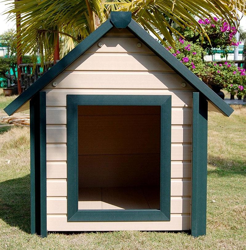 【アメリカNew Age Pet】ニューエイジペット ecoFLEX シリーズ超大型犬用ドッグハウス バンクハウススタイルドッグハウスS 【犬小屋 ドッグハウス】