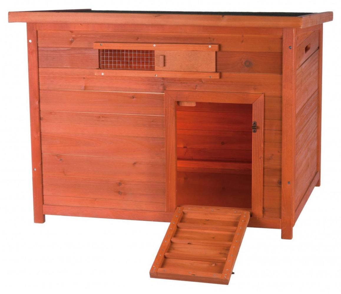 【ドイツTRIXIE】鳥かご 木製アヒルケージ ナチュラダックハウスケージ