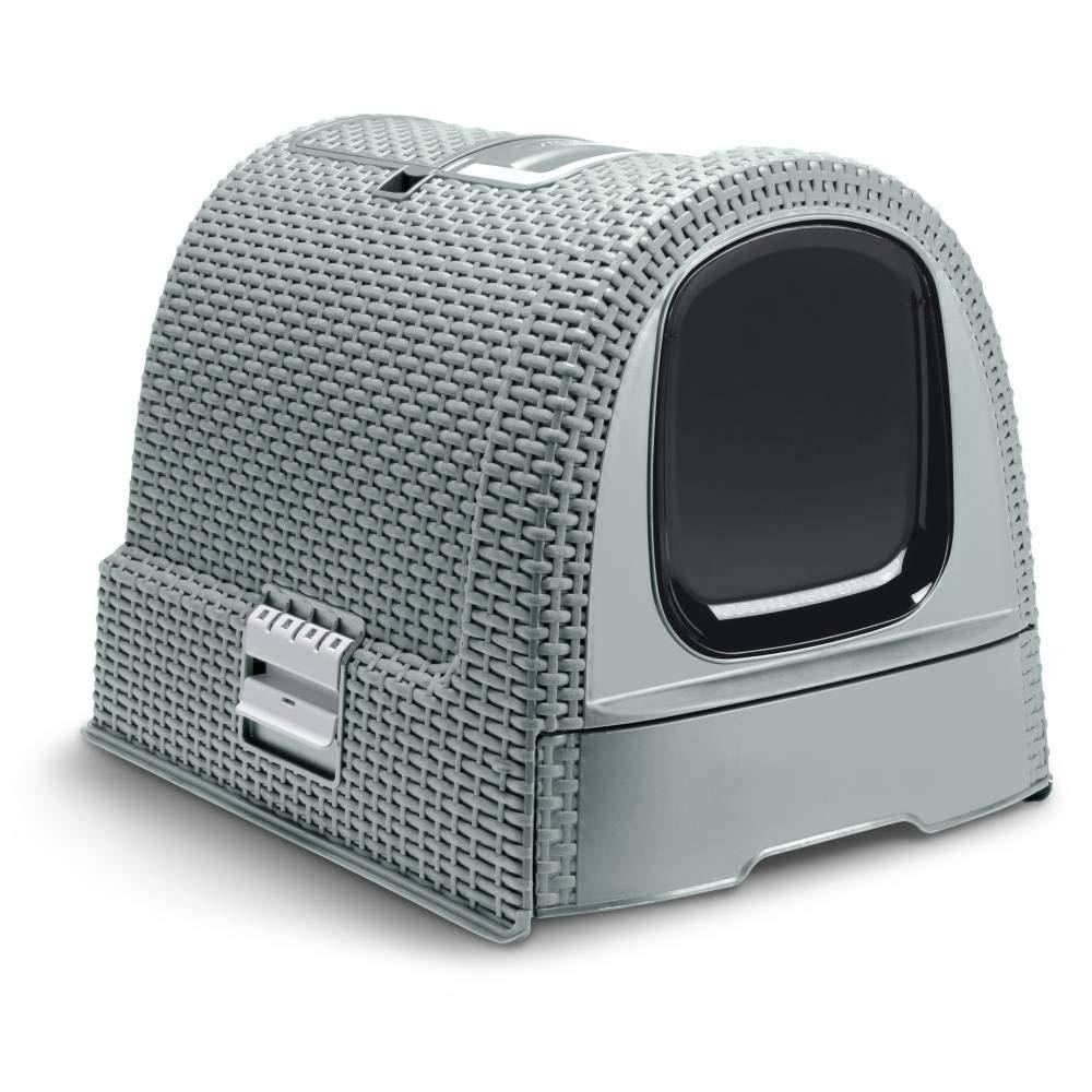 生活用品で世界中で有名なCURVERからペット用品が登場 Curver Pet 定番の人気シリーズPOINT(ポイント)入荷 Life Style カーバーペットライフ 引き出し フィルター付きネコトイレ スコップ 保証 キャットリッターボックスキャットトイレ ライトブルー
