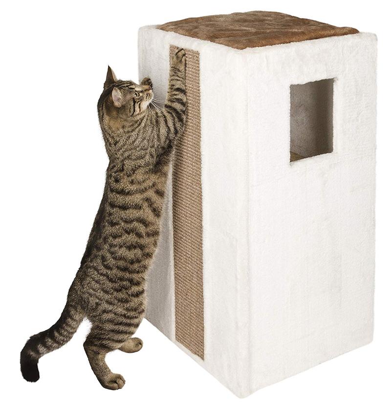 【ドイツKerbl】スクラッチングタワー バレルギャリーナ 【キャットツリー クローゼット 猫タワー ねこタワー ハンモック 高級】