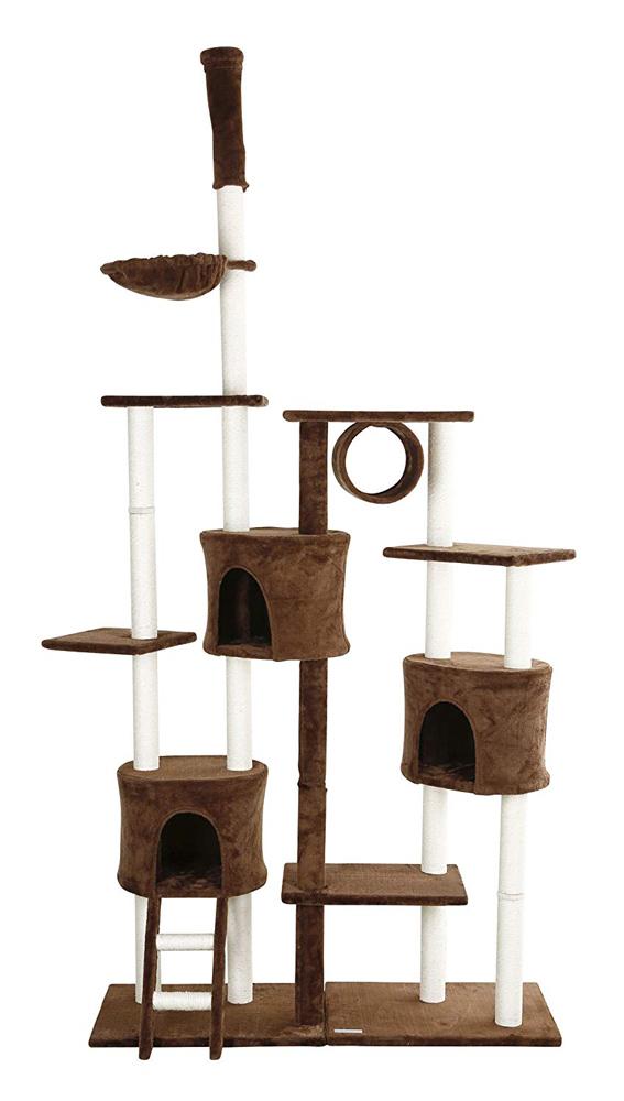 【ドイツKerbl】キャットタワー ウラナス 【キャットツリー クローゼット 猫タワー ねこタワー ハンモック 高級】