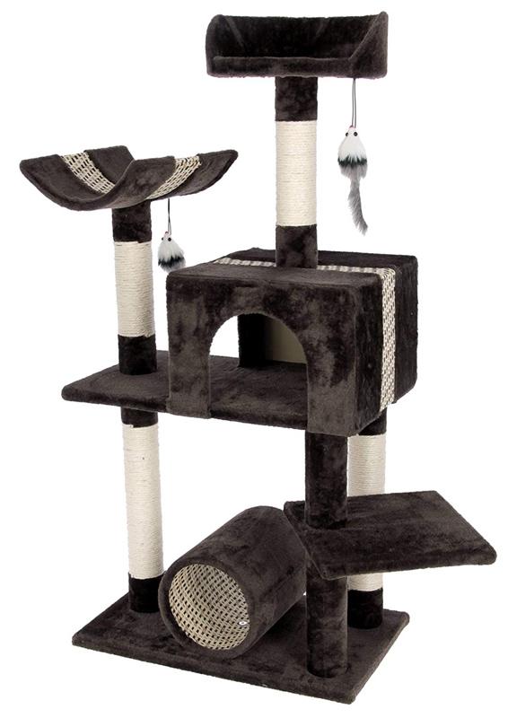 【ドイツKerbl】キャットタワー サファリビッグ 【キャットツリー クローゼット 猫タワー ねこタワー ハンモック 高級】