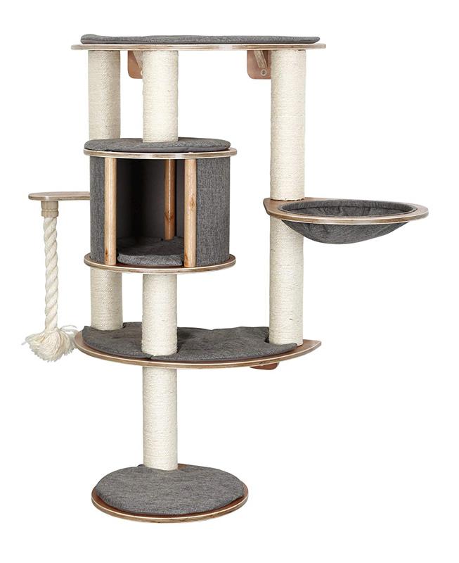 【ドイツKerbl】壁に取り付ける専用のキャットタワーです。ドイツKerbl社キャットタワー ドロミットプロ Tofana Pro グレー 【キャットタワー 爪とぎ プレイボックス ベッド ハウス ねこカフェ 猫カフェ ネコノミクス】