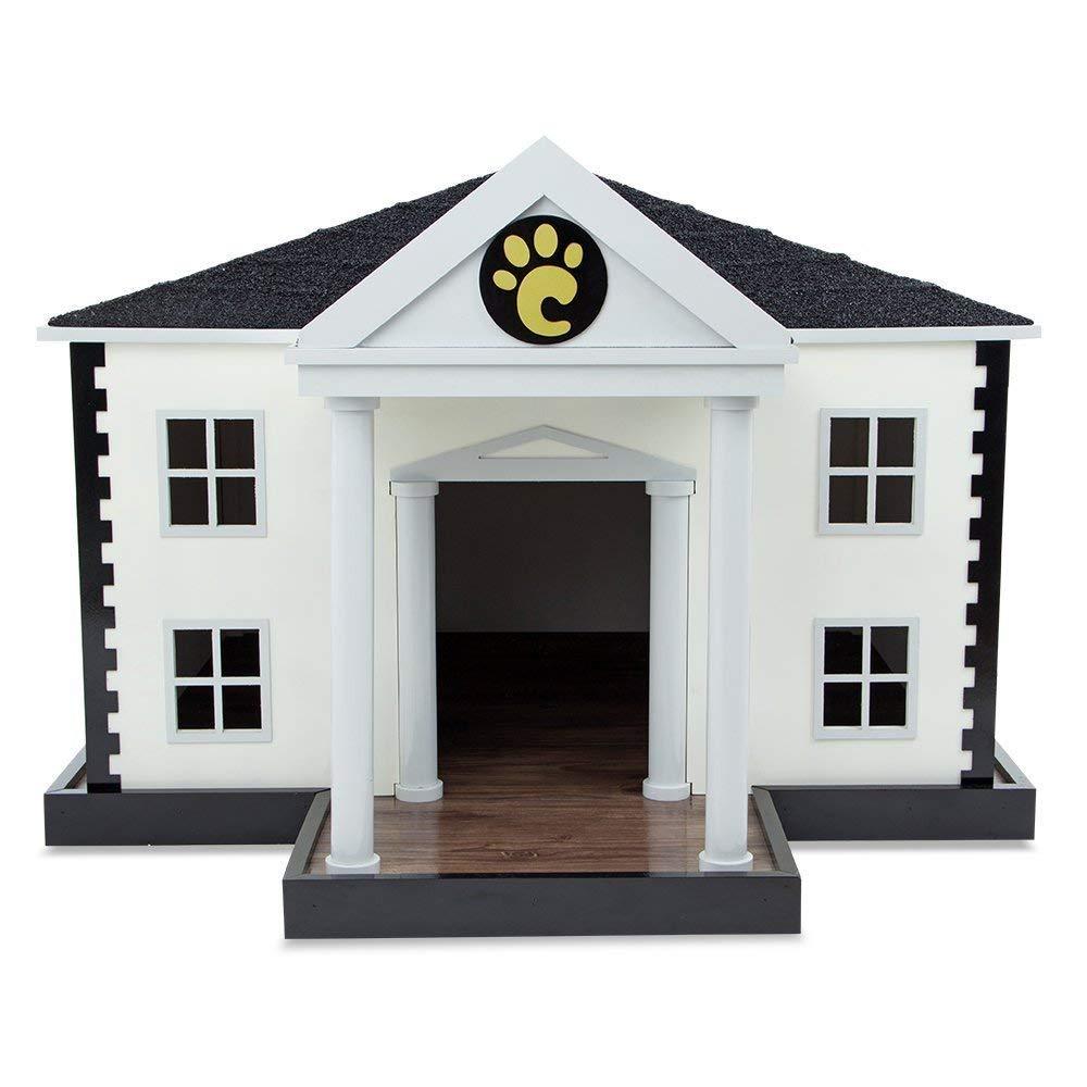 【Carlu Pet House】犬小屋 ブラジルCarlu Pet House 室内ドッグハウス ホワイトハウスドッグハウス【犬小屋 ドッグハウス】