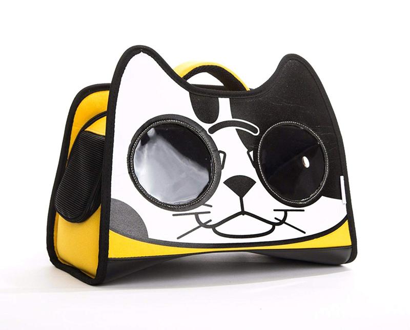 【CATOPIA】 キャリーバッグ アメリカCATOPIA 猫ちゃん用キャリーバッグ バックパックキャットキャリーバッグ レッドオレンジ
