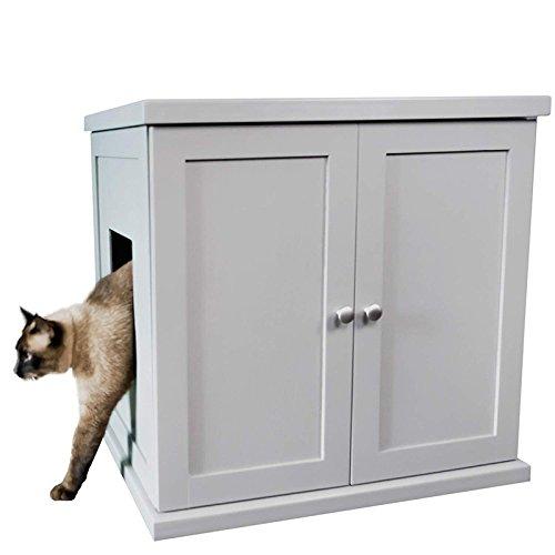 ※新色入荷です※【Refined Kind】新発売!リファインドカインド リファインドキャットリッターボックス Lサイズ スモークグレー【キャットツリー クローゼット 猫タワー ねこタワー ハンモック 高級 ねこカフェ 猫カフェ ネコノミクス】