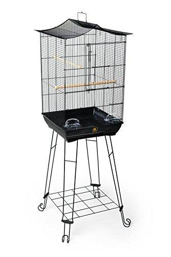 【プレビューペット】鳥かご PrevuePet NEWクラウントップバードケージ&スタンドセット 262