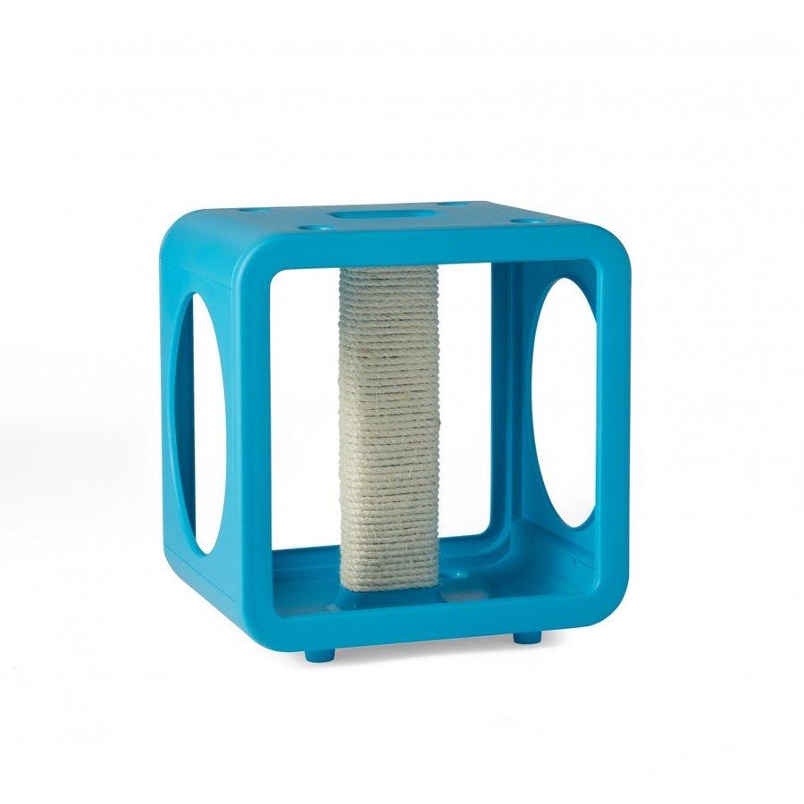 【KITTYKASAS】好きな形とカラーで組み合わせ可能なキャットタワー キティカーサキャットジム ブルー