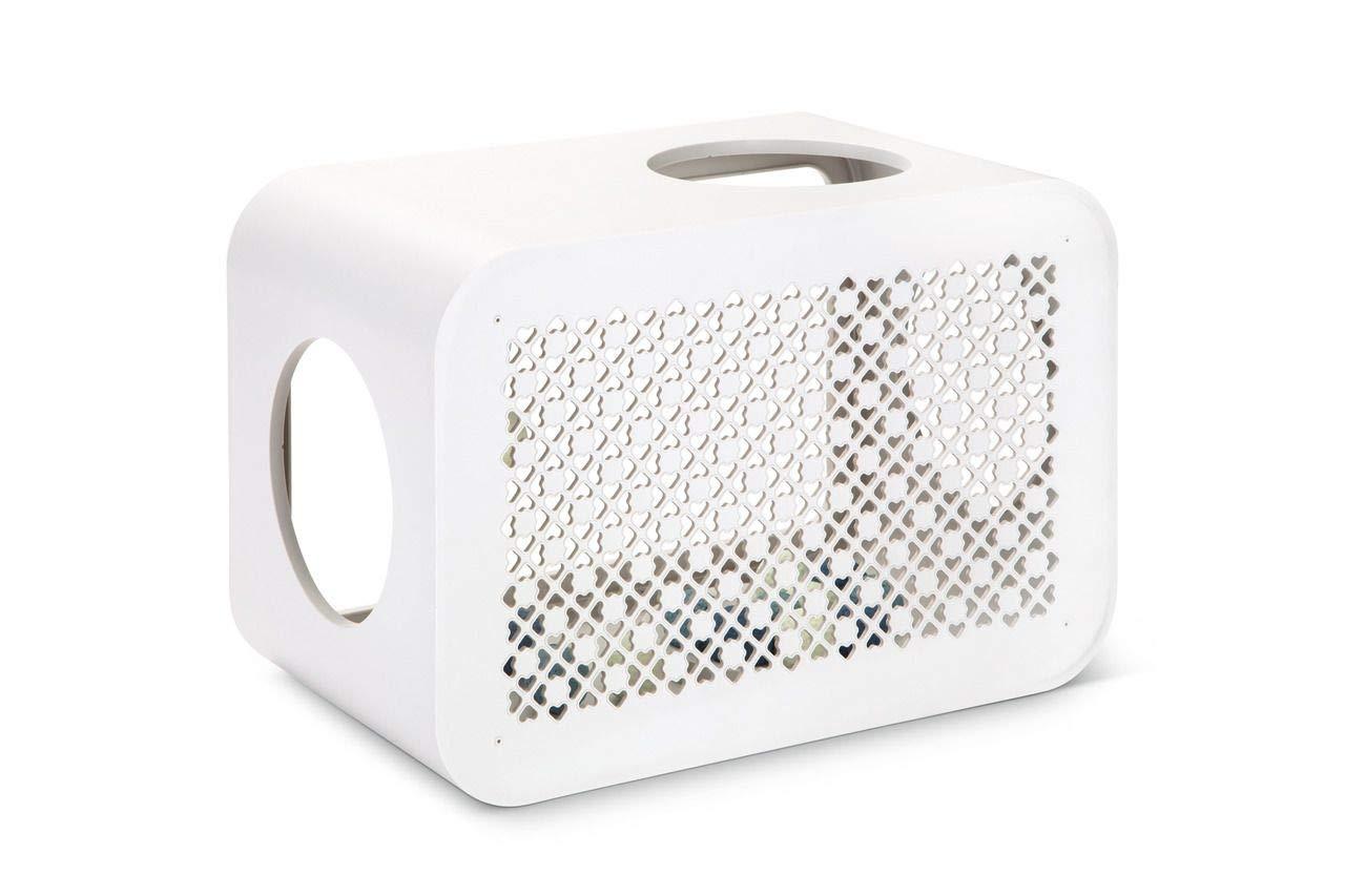 【オランダBEEZTEES】 自分の好きなパーツを組み合わせて作るキューブタワー キャットキューブ プレイ ホワイト【猫ハウス キャットハウス 保護猫】