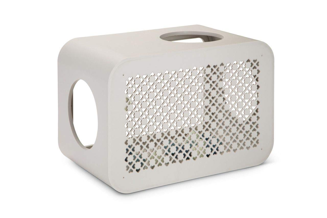 【オランダBEEZTEES】 自分の好きなパーツを組み合わせて作るキューブタワー キャットキューブ プレイ グレー 【猫ハウス キャットハウス 保護猫】