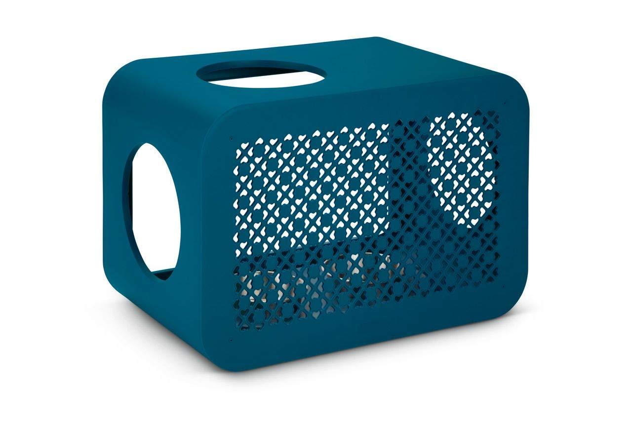 【オランダBEEZTEES】自分の好きなパーツを組み合わせて作るキューブタワー キャットキューブ ダイナー ブルーグリーン 【猫ハウス キャットハウス 保護猫】