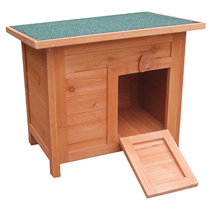 【ベルギーFLAMINGOPET】うさぎ小屋&木製キャットホーム ドイツKARLIE ラビットケージ DOMO