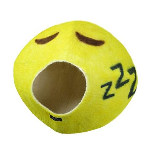 【アメリカWalking Palms 】猫用ベッド アメリカWalking Palms メイドインUSA スペシャルエディションウォーキングパームキャットケイブ emoji