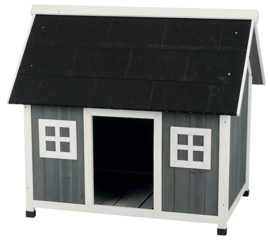 【TRIXIEPET】ドッグハウス 屋外用犬小屋 ナチュラドッグケンネルバーンスタイルドッグハウス L/XL